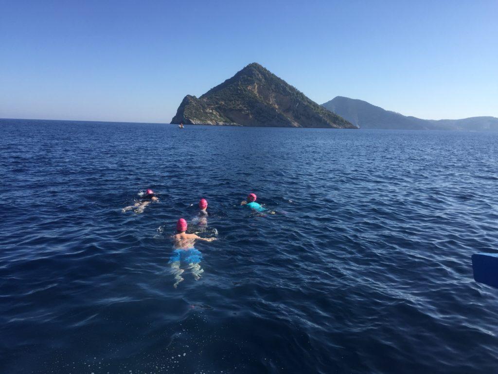 Greece crossing by sea