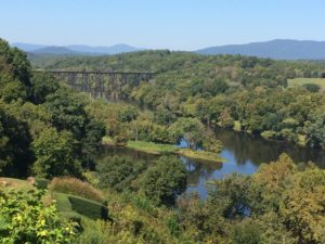 View of Lynchburg valley