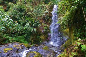 Costa Rican waterfall