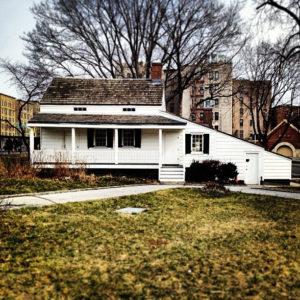 Edgar Allen Poe house in the Bronx.