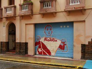 Street art in Old San Juan, Puerto Rico