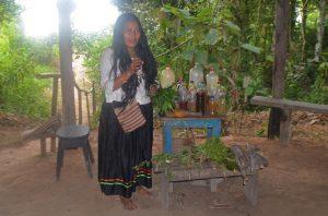 Photo of the resident shaman.