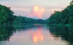 Amazon River at night