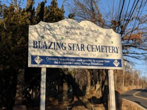 Blazing Star Cemetery. Photo: Hannah Frishberg