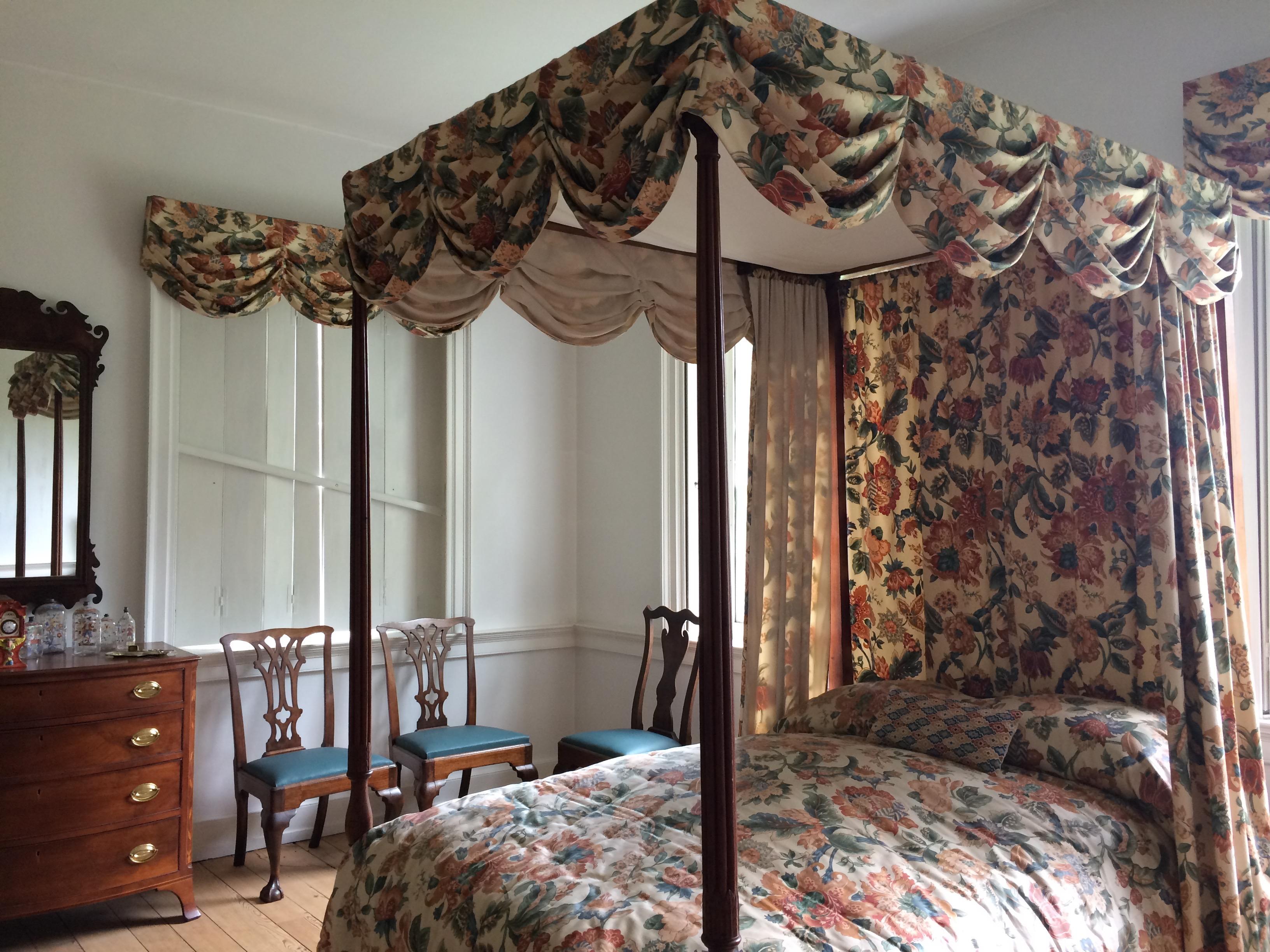 Rock Ford Plantation bedroom. Photo: Tonya Fitzpatrick