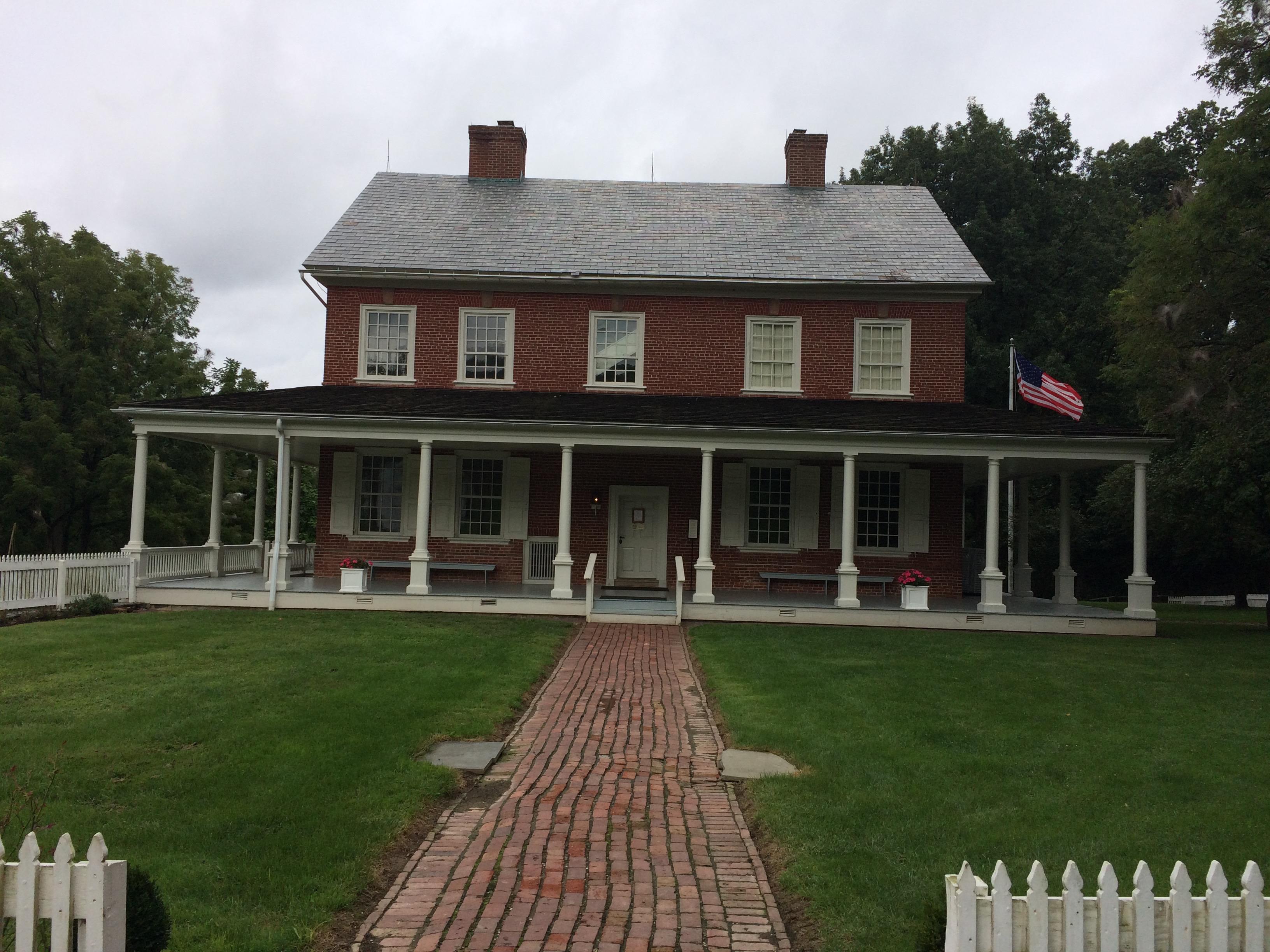 Outside of Rock Ford House. Photo: Tonya Fitzpatrick