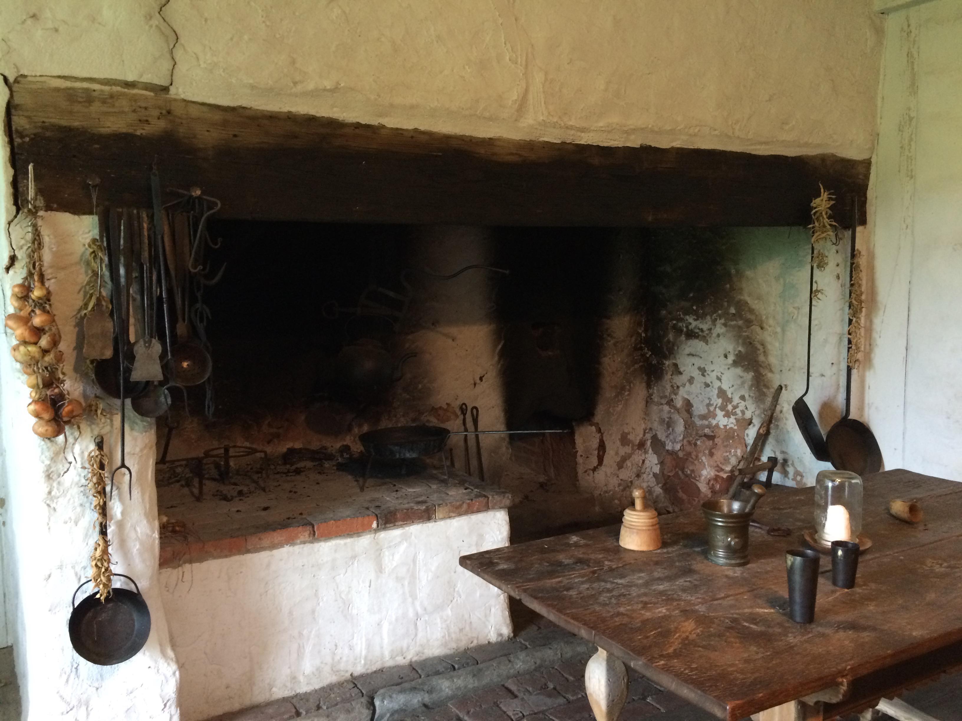 Kitchen in Hans Herr House. Photo: Tonya Fitzpatrick