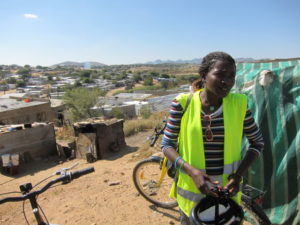 Anna Guides in Windhoek. Photo: Chez Chesak