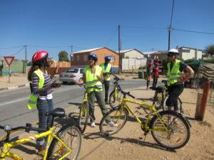 Bike trip in Namibia