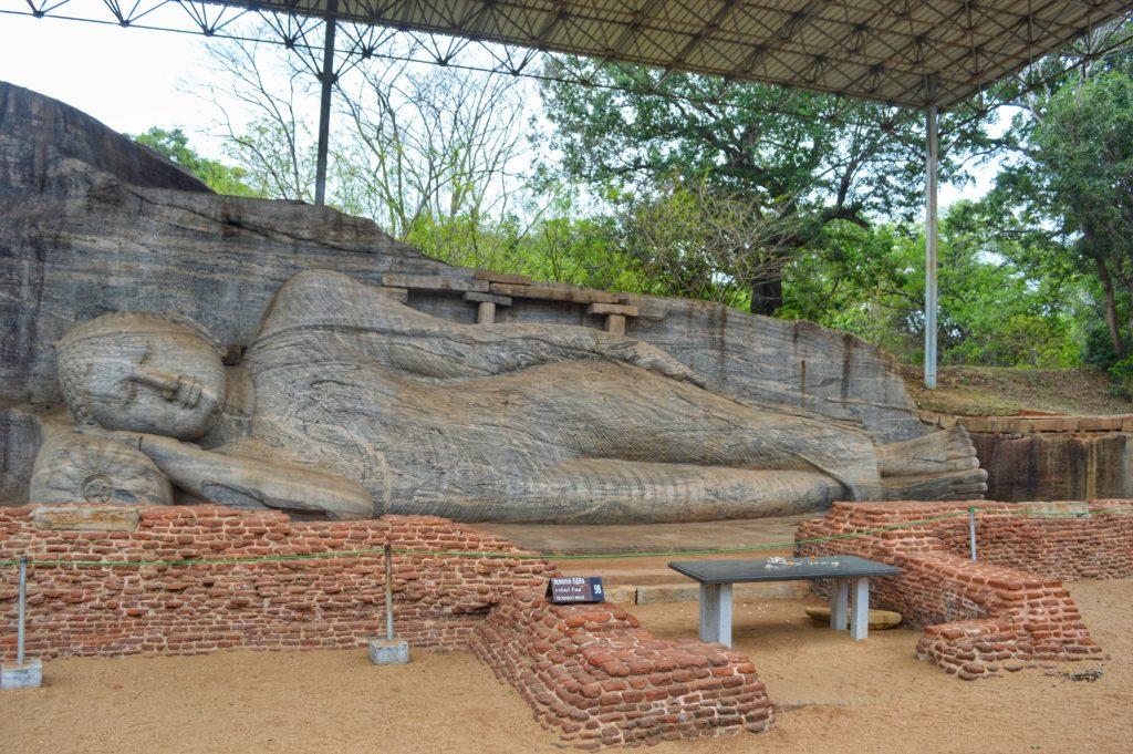 Monument within the Polonnaruwa Ancient City. Photo: Zinara Rathnayake