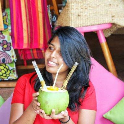 Sri Lankan travel writer Zinara Rathnayake