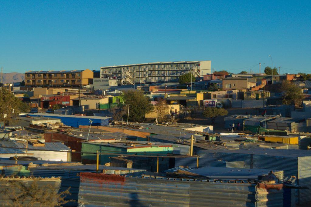 View of Katutura, Namibia