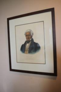 Portrat of Major Ridge. Photo: Kathleen Walls