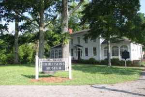 Exterior of Chieftan Museum. Cover Photo: Kathleen Walls