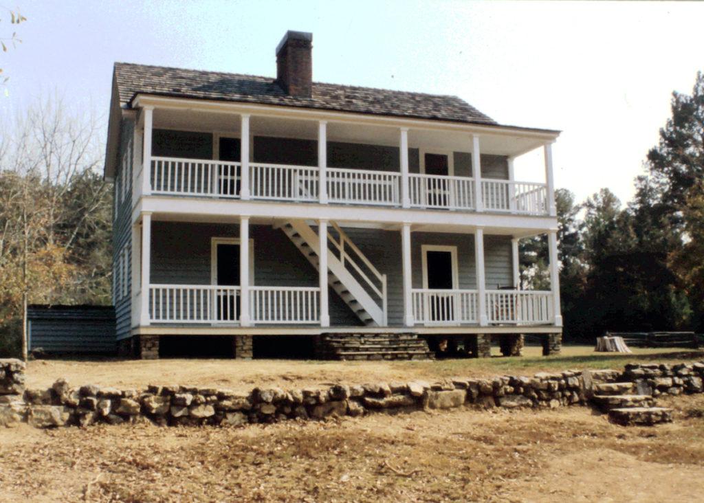 Samuel Worchester's home. Photo: Kathleen Walls