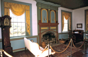 The parlor as it would have looked when Rich Joe lived there. Photo: Kathleen Walls