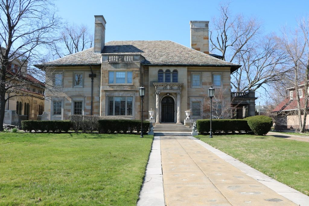 Historic home in Detroit.