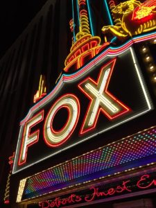 The famous Fox Theatre in downtown Detroit.