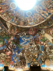 Fresco inside the National Hispanic Cultural Center. Photo: Melissa Curtin