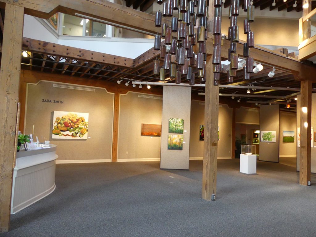 Lobby of Art Center.  Photo:  Kathleen Walls