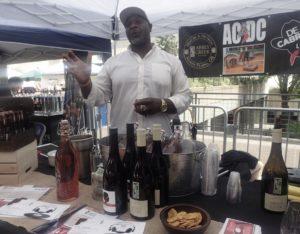 My People's Market, 2018 Bertony Faustin Abbey Creek Vineyard Owner/Winemaker. Photo: Becky Garrison
