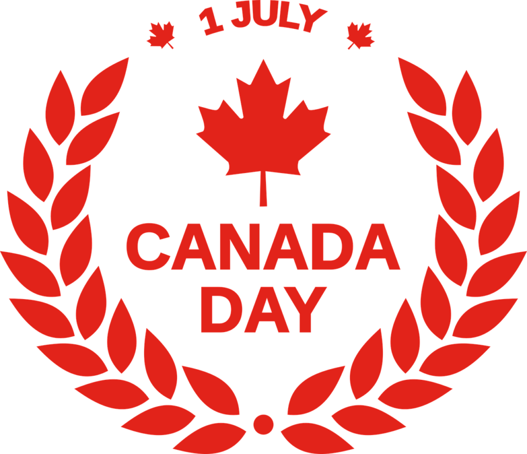 Canada Day Maple Leaf image
