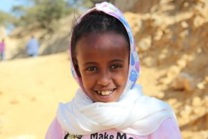 Photo of Eritrean girl