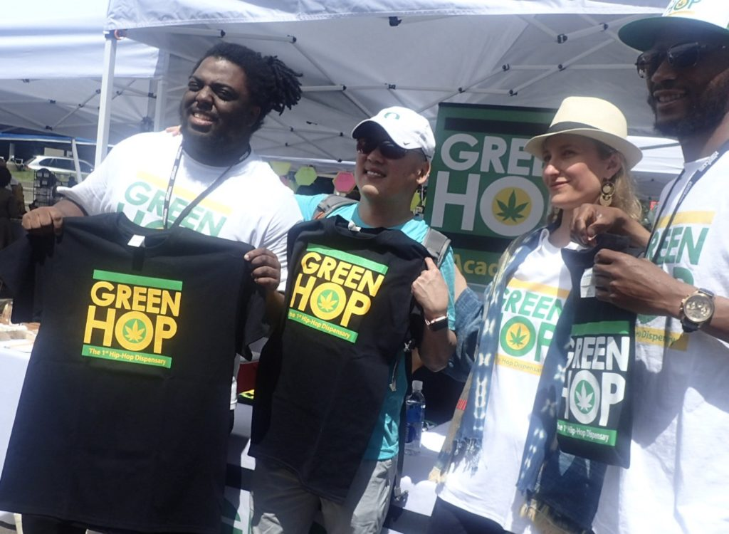 Green Hop Dispensary. Photo: Becky Garrison
