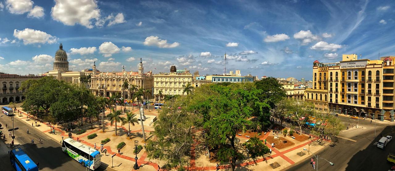 Park in Havana, Cuba