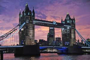 London's famous Tower Bridge