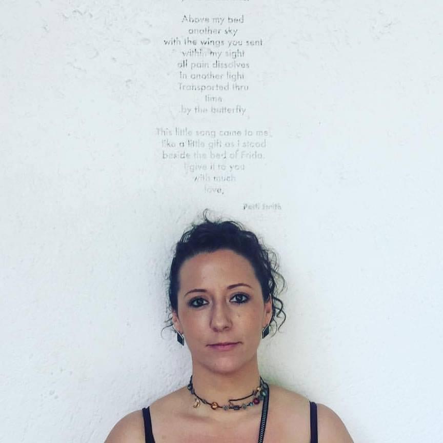 Travel writer Alexandra Fletcher head shot.