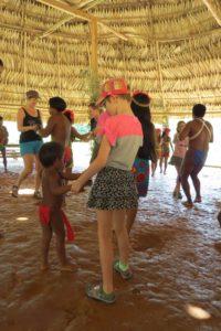 Embera dancing