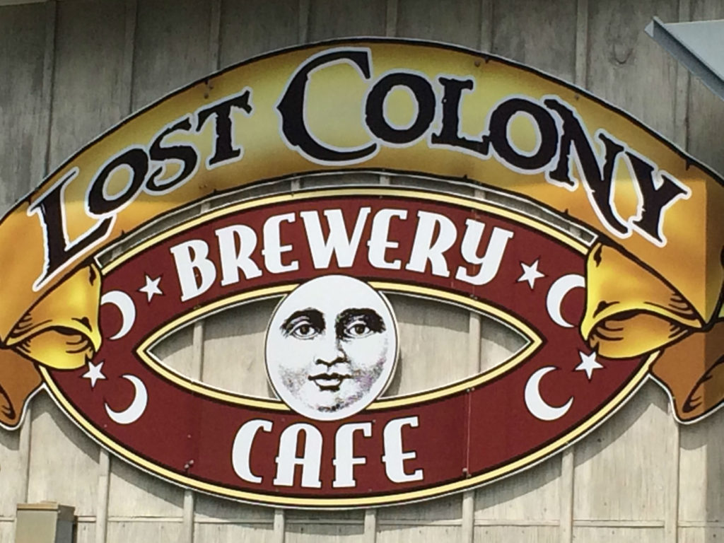 Outer Banks Lost Colomy Brewery. Photo: Tonya Fitzpatrick