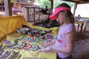 Panama Embera village crafts. Photo by Chez
