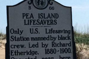 Pea Island life-saving station. A historic site and museum. Photo: Tonya Fitzpatrick