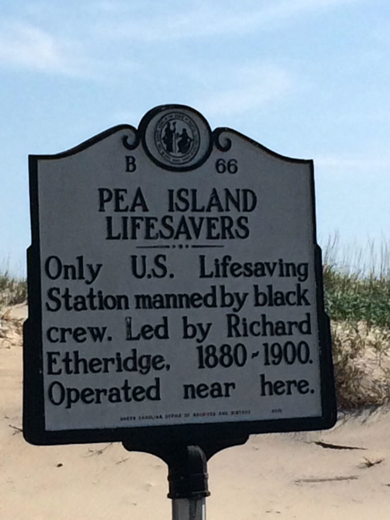Pea Island life-saving station. A historic site and museum. Photo: Tonya Fitzpatrick