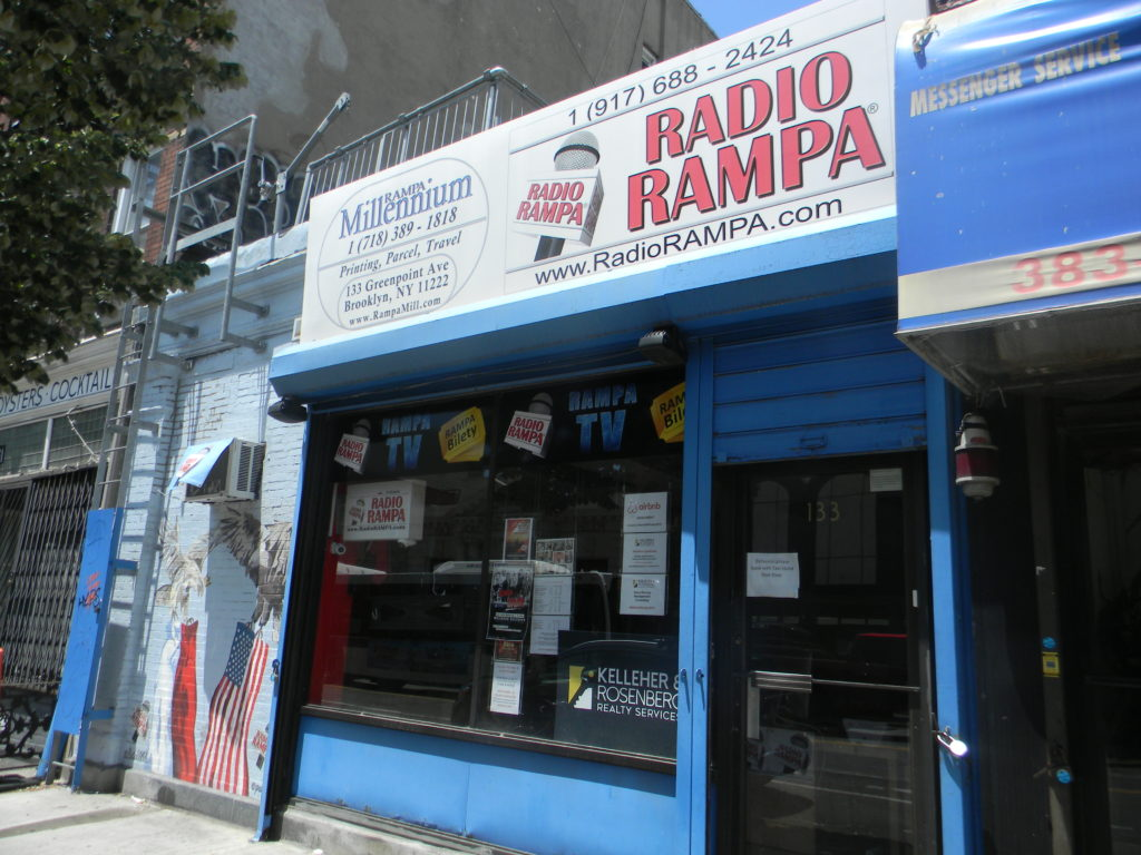 Radio Rampa.Greenpoint