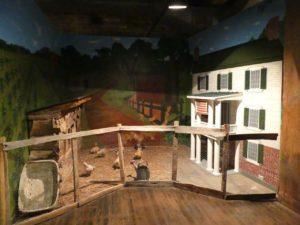Exhibit of farmyard. Photo by Kathleen Walls