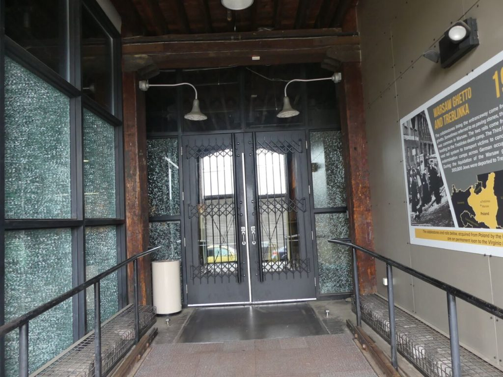 Front walkway into museum. Photo by Kathleen Walls
