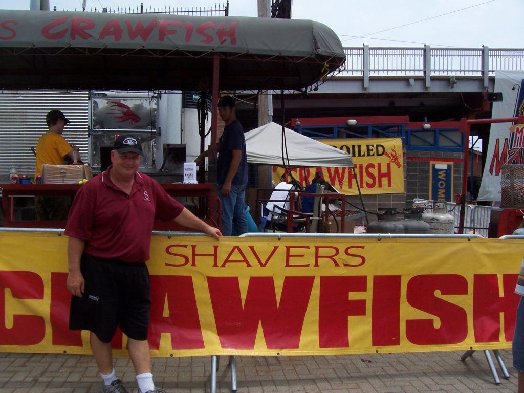 Robert Shavers of Shavers Crawfish & Catering Company. Photo: Tonya Fitzpatrick