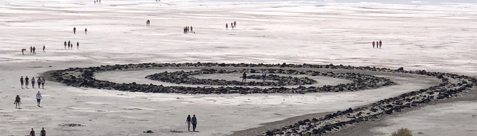 Spiral Jetty From Above. Photo: Allison Amon