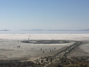 (Cover image) Spiral Jetty Overview. Photo: Eliza Amon