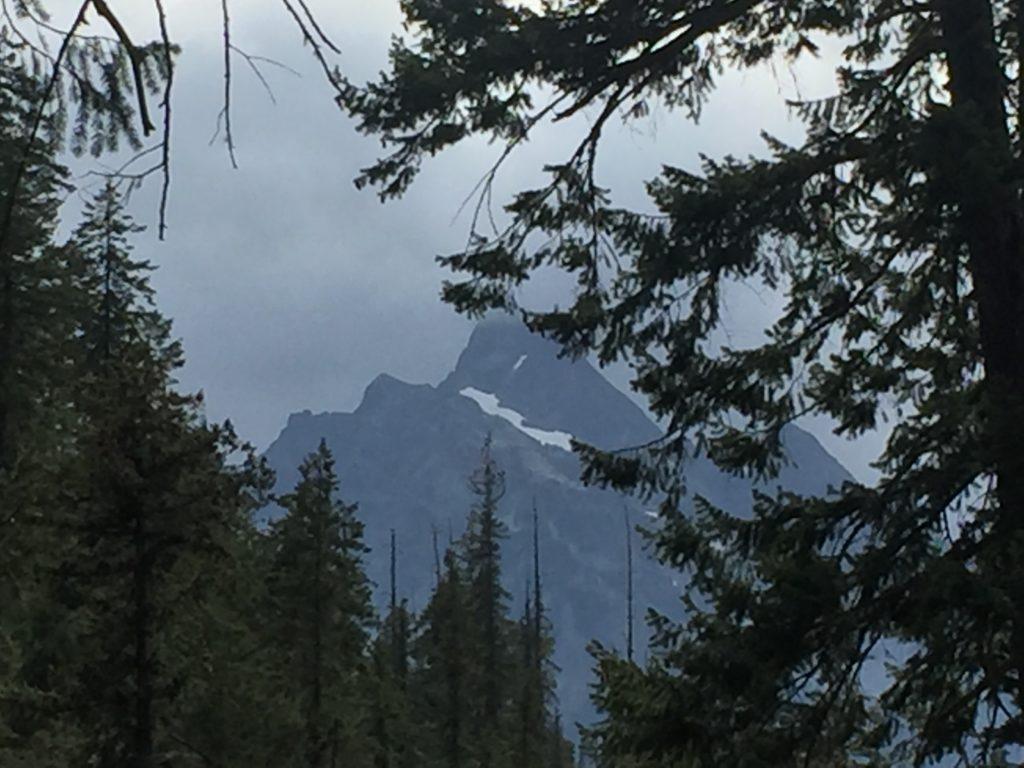 View of Agnes Peak. Photo: Eliza Amon