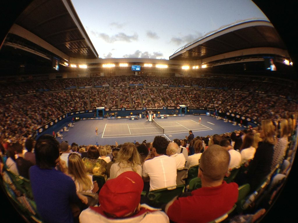Rod Laver Arena. Austrailian Open