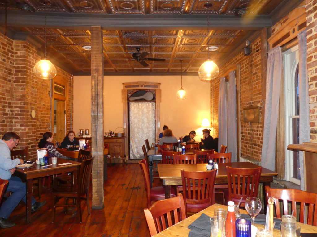 Interior of The Harmony Inn. Photo: Kathleen Walls