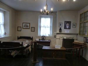 Harmony Museum Father Rapp's Room. Photo: Kathleen Walls