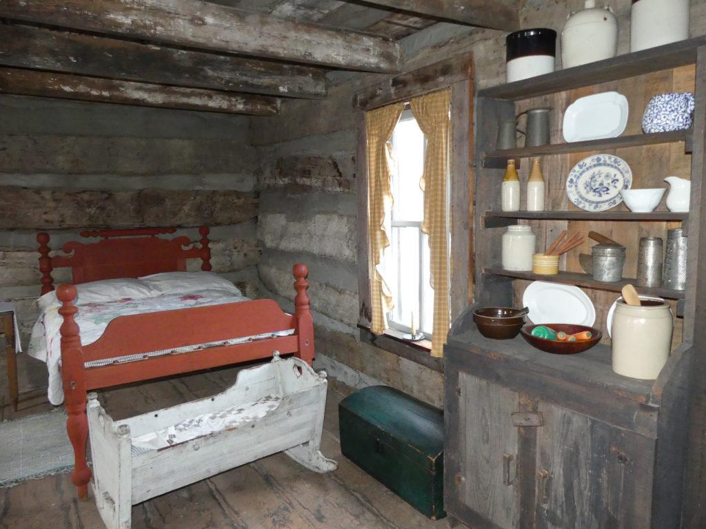 Interior of Ziegler Cabin. Photo: Kathleen Walls