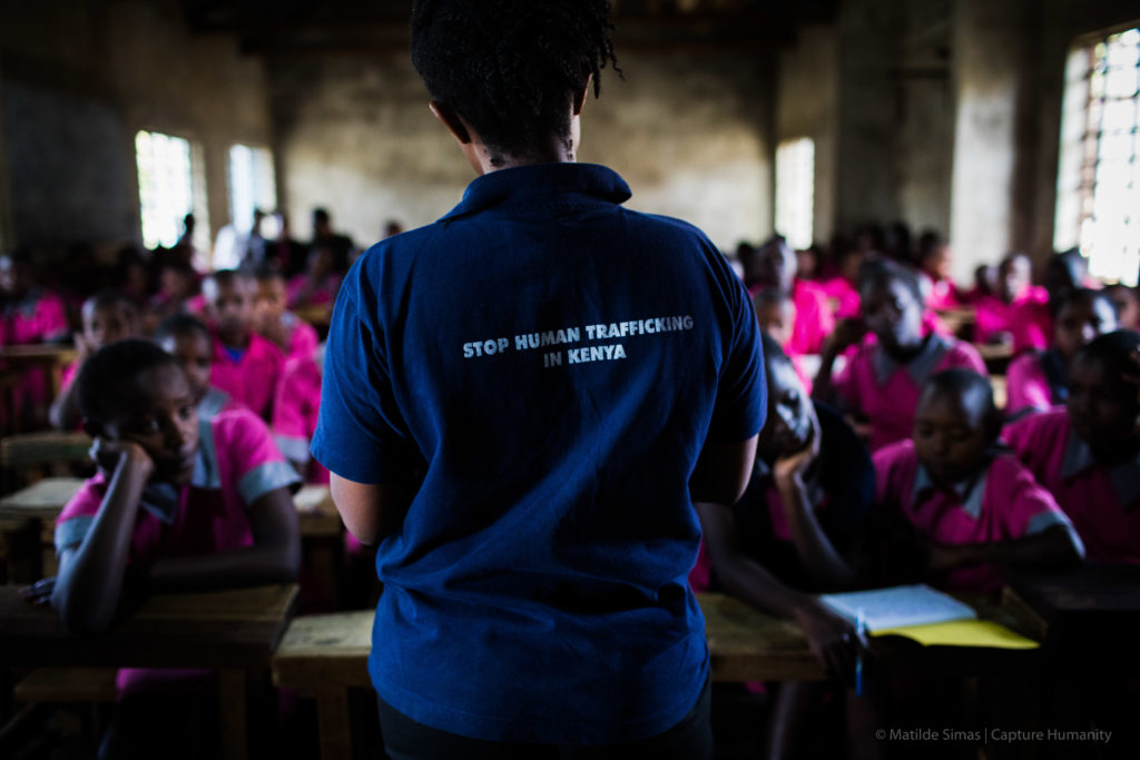 Stop Human trafficking. Photo: Matilde Simas