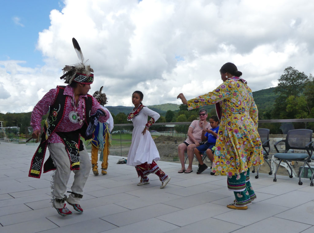 Native dance. Photo: Kathleen Walls