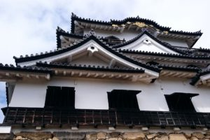 """The Hikone Castle is also known as """"Water Castle"""""""